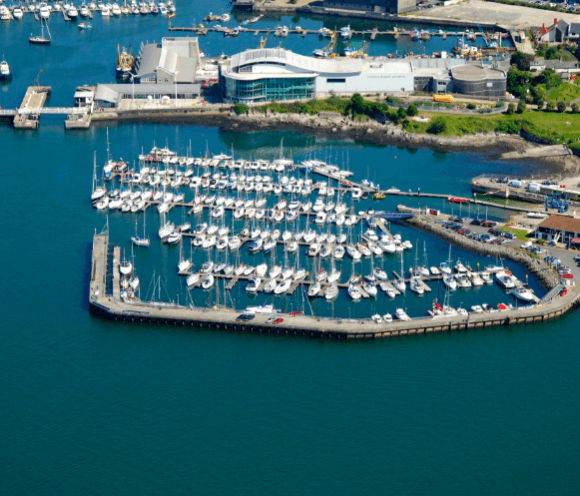 Plymouth birds eye view