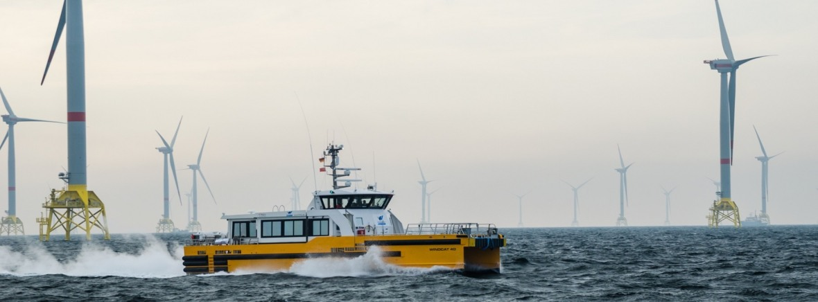 wind farm Windcat workboat